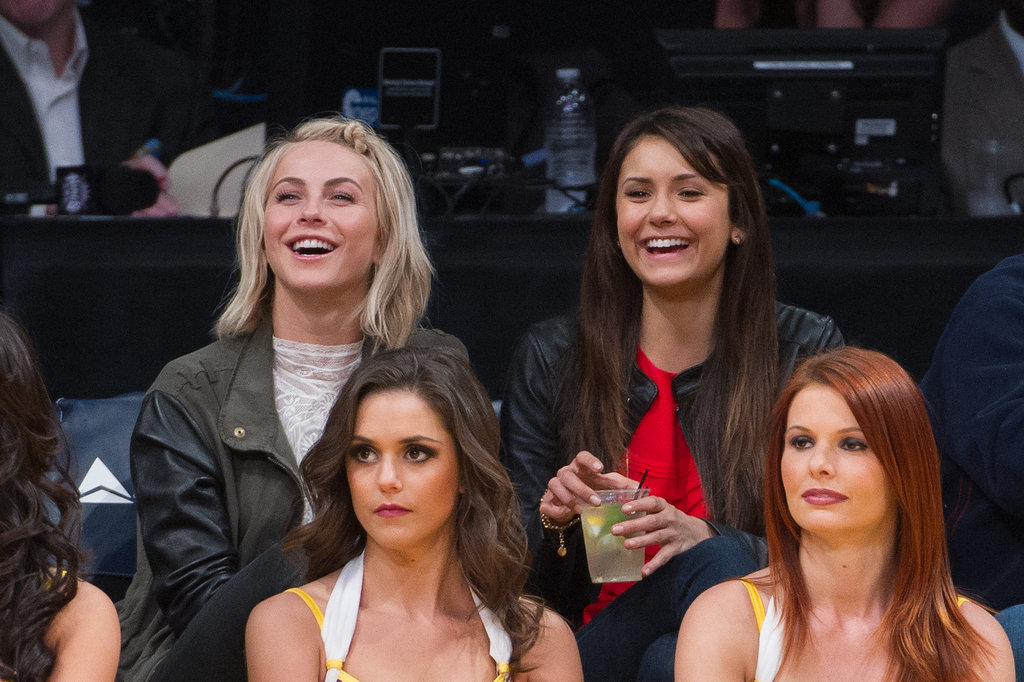 Nina Dobrev and Julianne Hough share a supportive friendship. The gal pals saw each other through the ups and downs of very public break-ups with Ryan Seacrest and Ian Somerhalder. The pair have bonded everywhere from Lakers games to bikini-filled getaways on tropical beaches.