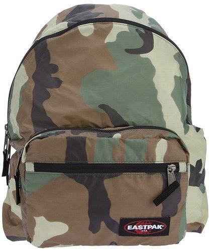 Eastpak camouflage print backpack