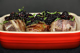 Grilled Lamb Loin Chops With Blackberry Relish