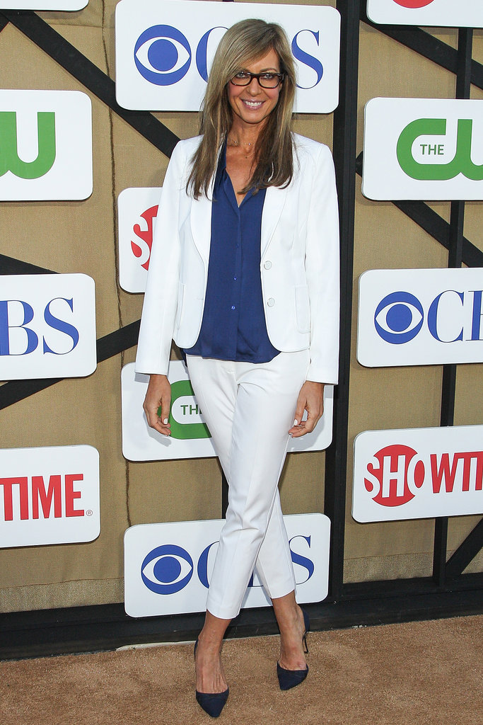 Allison Janney attended the Summer TCA Press Tour party hosted by The CW, CBS, and Showtime.