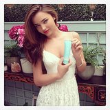 Miranda Kerr promoted her skincare range, Kora Organics. Source: Instagram user mirandakerr