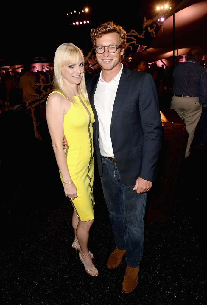 Anna Faris and Simon Baker