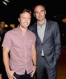 Scott Porter and Paul Blackthorne
