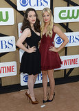 Kat Dennings and Beth Behr
