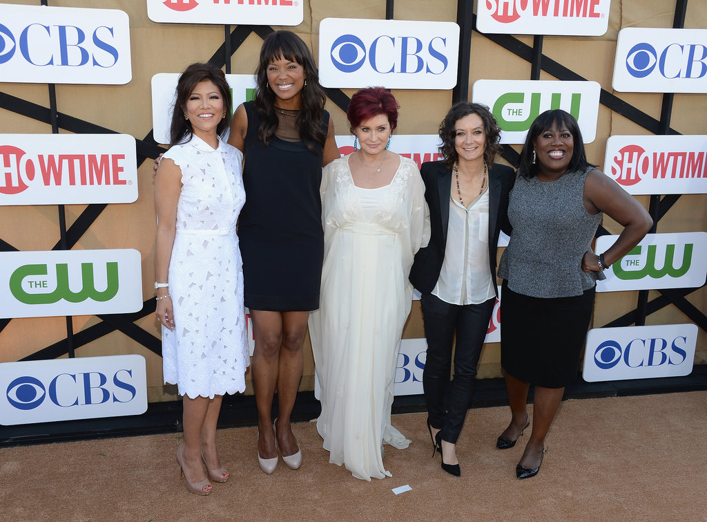 Julie Chen, Aisha Tyler, Sharon Osbourne, Sara Gilbert and Sheryl Underwood