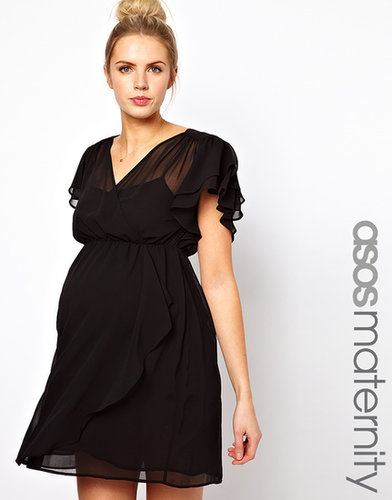 ASOS Maternity Skater Dress with 70's Frill
