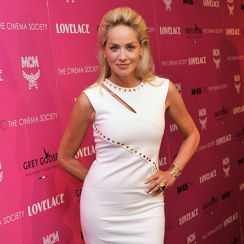 Sharon Stone Lovelace Premiere Dress
