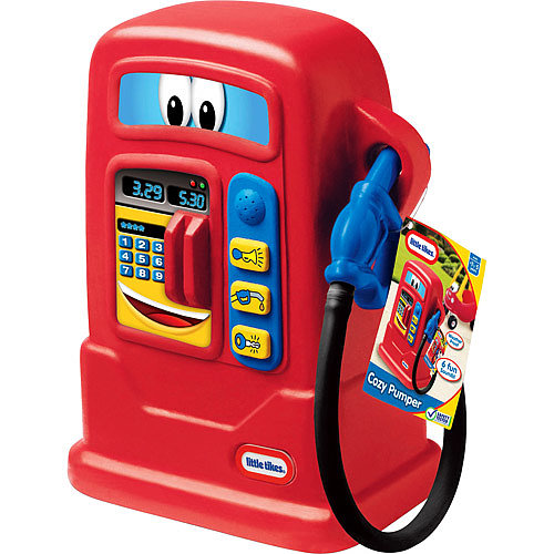Got a Little Tikes Cozy Coupe? Then of course you'll be needing a Cozy Pumper ($27) to boot!