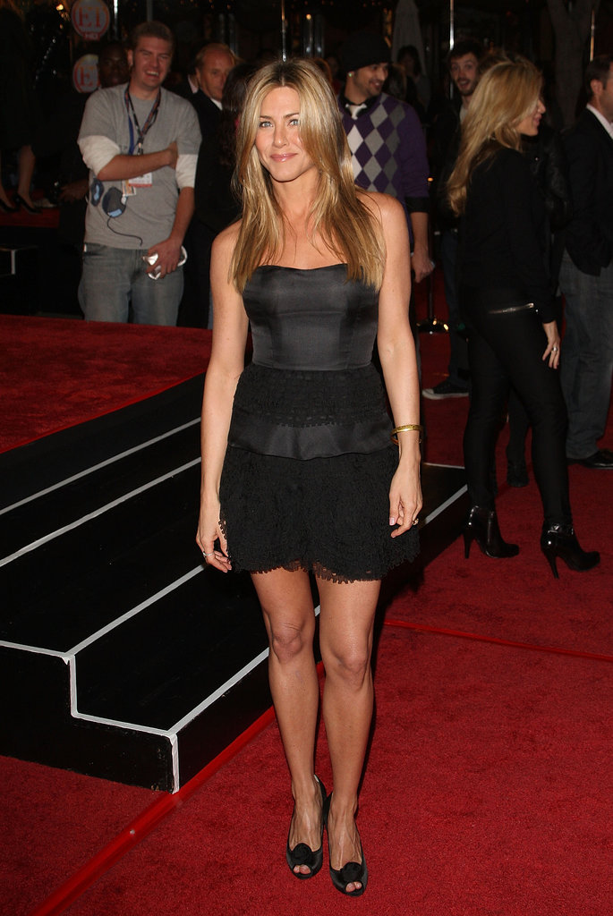 Satin and lace oozed style and grace at the 2008 LA premiere of Marley & Me.