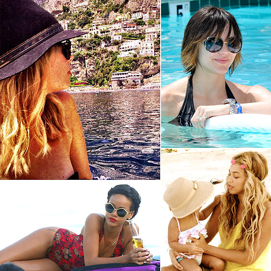 Pool Party Hair Ideas From Hollywood's Hottest Beach Babes