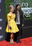 Kelly Osbourne and her fiancé, Matthew Mosshart, made a stylish pair on the Young Hollywood Awards red carpet.