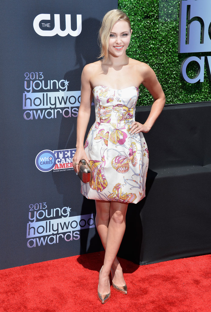 AnnaSophia Robb received the Female Superstar of Tomorrow Award at the Young Hollywood Awards.