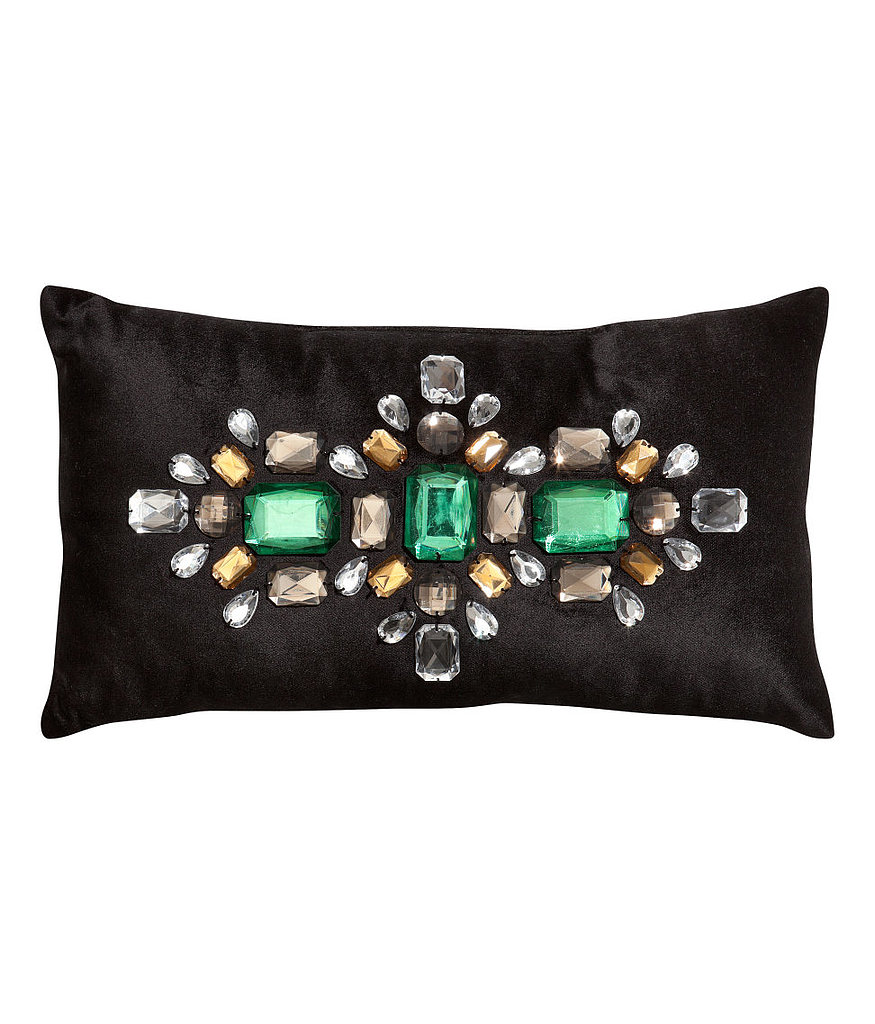 We've got two words for you: velvet + rhinestones. This pillow ($25) will take your bedroom from boring to boudoir in five seconds flat.