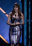 Actress Christa B. Allen took the stage at the Young Hollywood Awards.