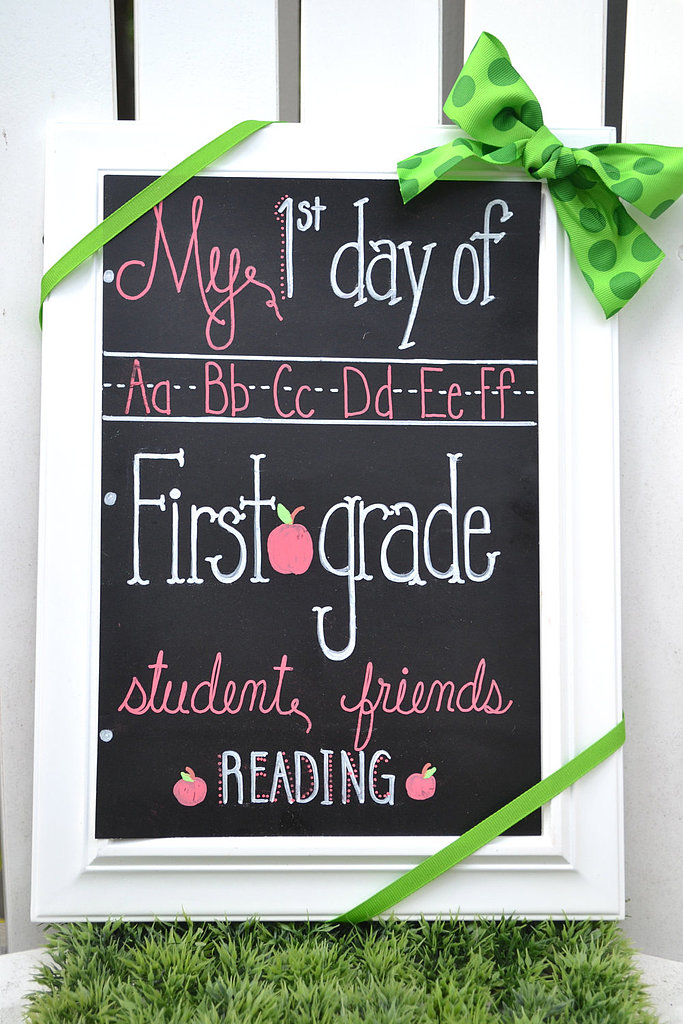 First Day of School Chalkboards