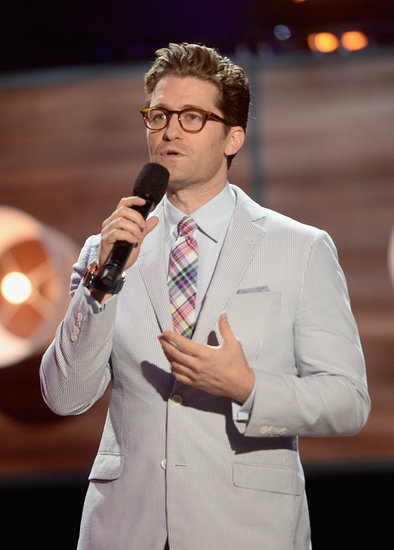 Matthew Morrison took the stage at the Do Something Awards.