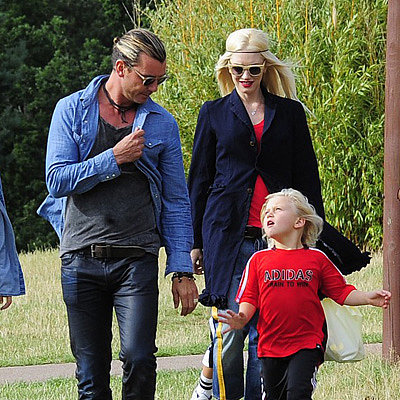 Gwen Stefani and Gavin Rossdale at the Zoo With Their Kids