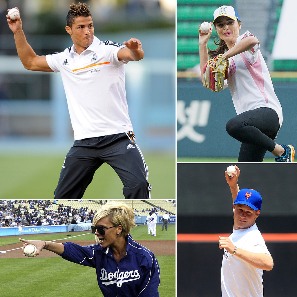 Pitch Perfect — Stars Get Their Game On!