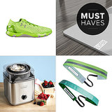 Whether you're working up a sweat outdoors or cooling off inside this month, we've got the goods. From no-slip headbands and amazingly light running shoes to the perfect home gym mat and a way to make healthy frozen treats at home, click through to see what POPSUGAR Fitness is most excited about for August!