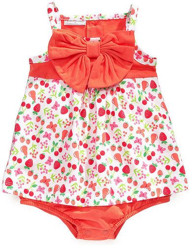 First Impressions Baby One-Piece, Baby Girls Fruit-Print Sunsuit