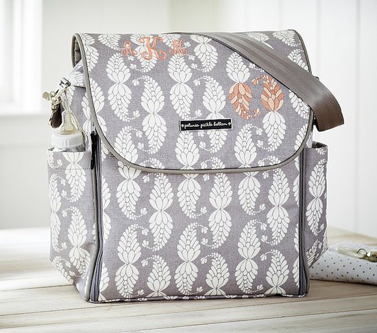 Petunia Pickle Bottom Picnic in Paris Boxy Backpack