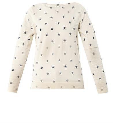 MiH Jeans Breton star-print top