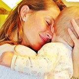 Vivian Brady enjoyed some sweet snuggles with her mom, Gisele Bündchen. Source: Instagram user giseleofficial
