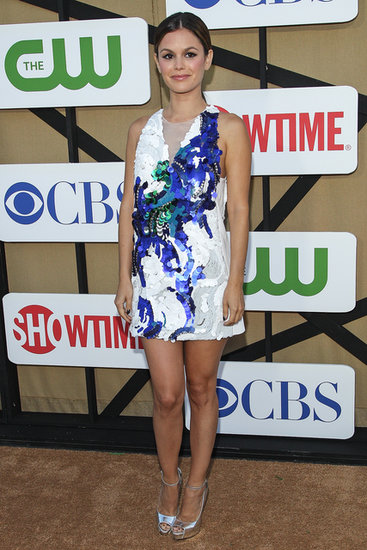 Rachel Bilson lit up the TCA red carpet in an embellished 3.1 Phillip Lim mini.