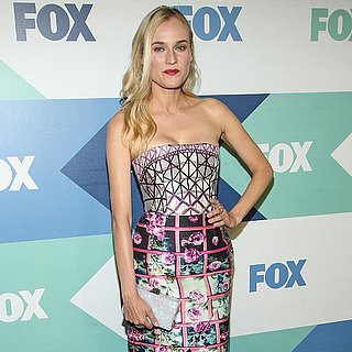 Diane Kruger Dress at Fox Party | Video