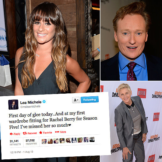 Tweets of the Week: Lea Michele, Ellen Degeneres, Conan O'Brien and More!
