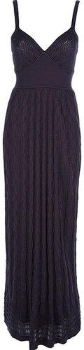 M Missoni long knitted dress