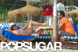 Bikini-clad Eva Longoria and Ernesto Arguello relaxed together in Spain.
