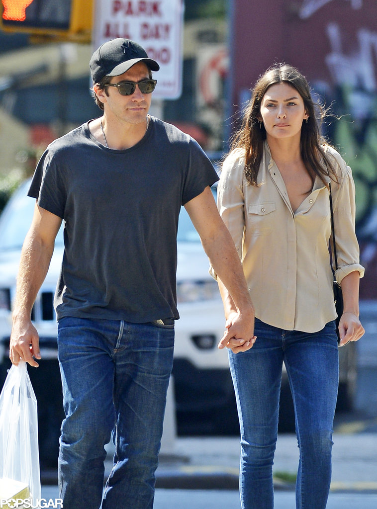 Jake Gyllenhaal and Alyssa Miller Heat Up NYC With a Stroll