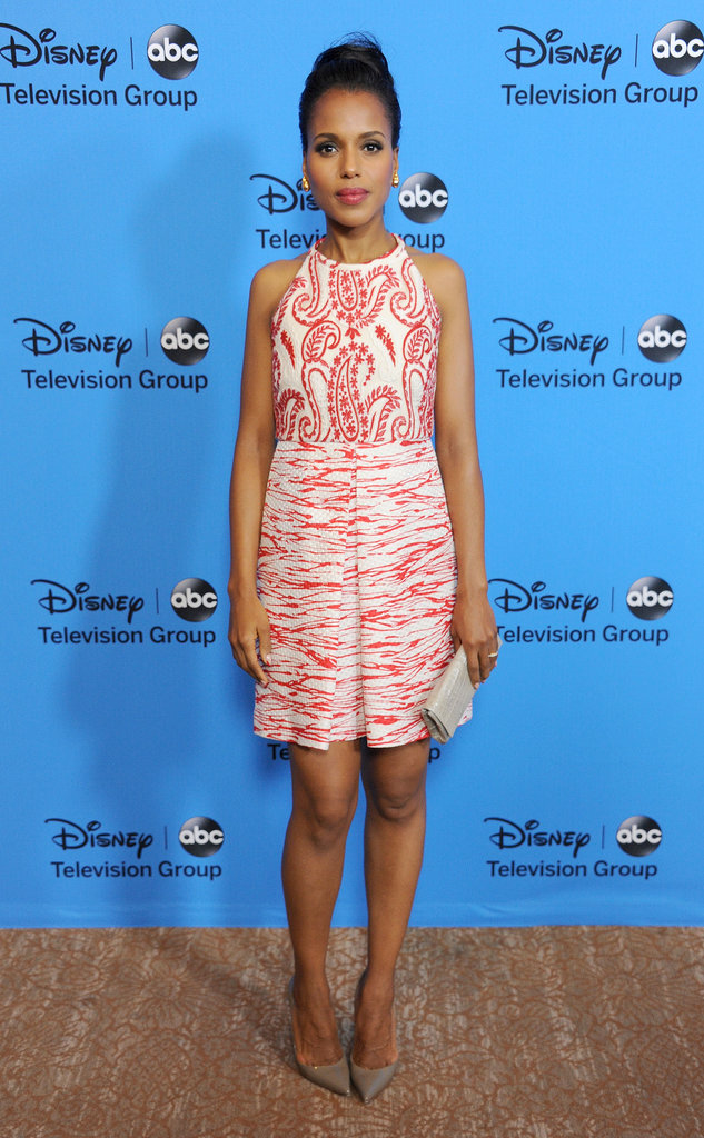 Kerry Washington made a stylish appearance at the Summer TCA Tour on Aug. 4 in Beverly Hills.