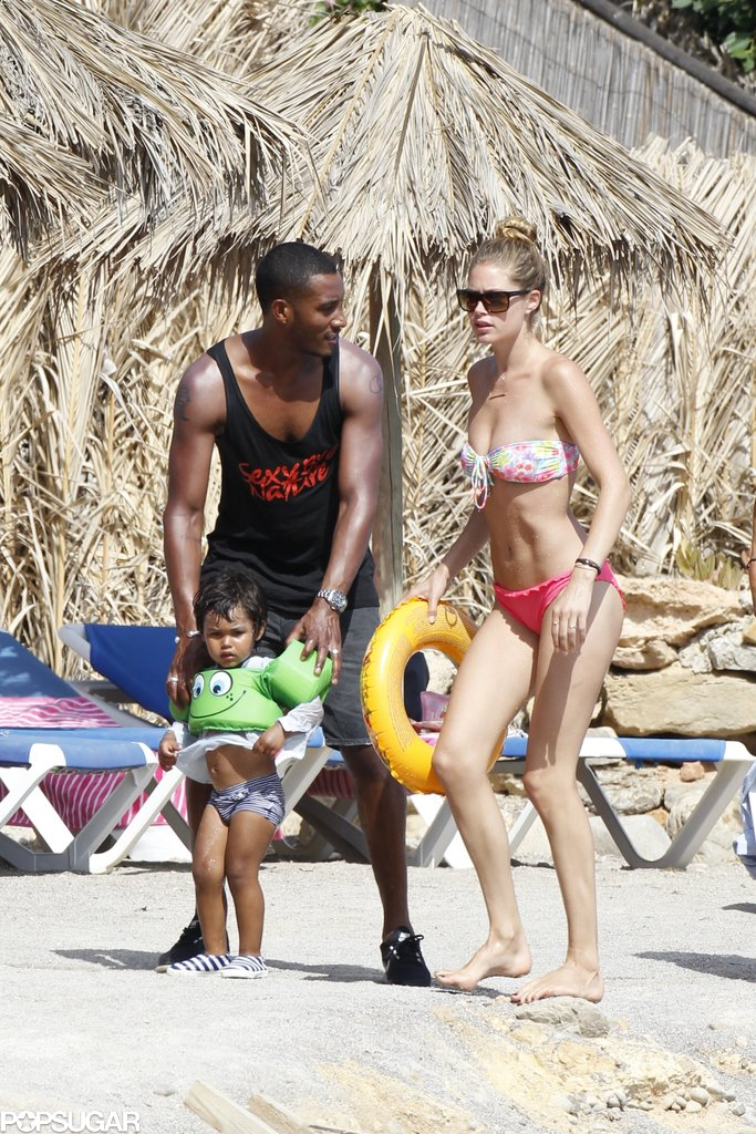 Doutzen Kroes Mixes Bikini Time and Family Fun in Ibiza