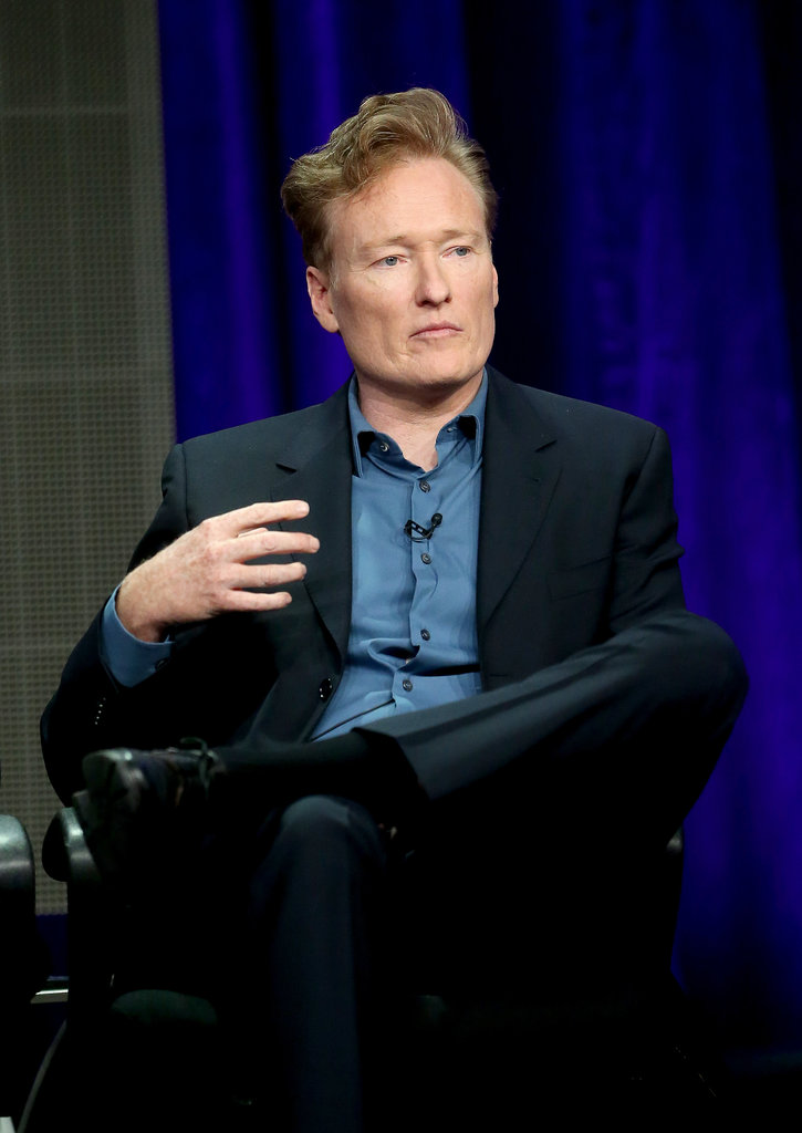 Conan O'Brien was one of the participants in the panel for Super Fun Night.