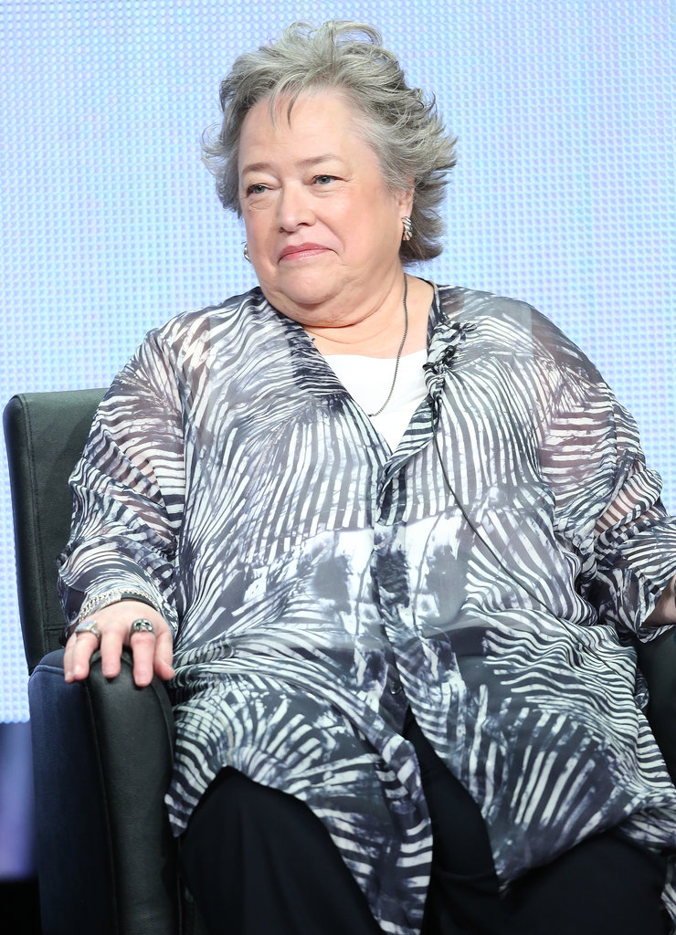 Kathy Bates took part in the panel discussion for American Horror Story: Coven.