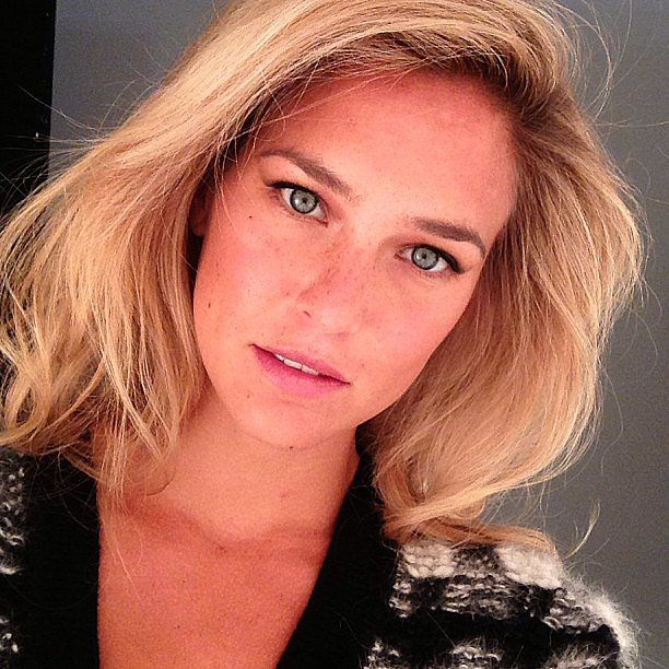 Bar Refaeli shared this stunning close-up shot. Source: Instagram user barrefaeli
