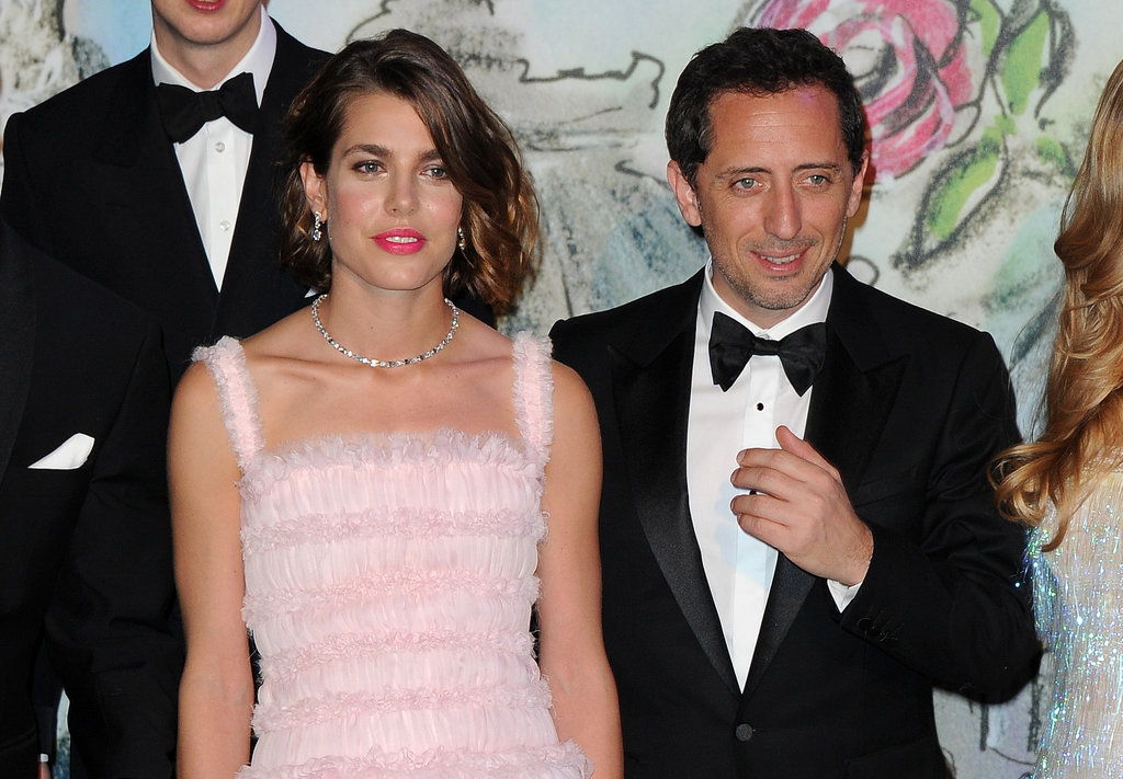 Charlotte attended the annual Rose Ball in Monte Carlo earlier this year, bringing along boyfriend Gad, who is a well-known actor and stand-up comedian in France. American audiences might recognise him from his cameo in Midnight in Paris, in which he plays a detective who gets stuck back in time at Versailles.