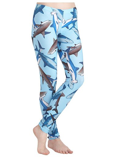 For Shark Week die-hards, might we suggest these Fresh Take Leggings ($35).