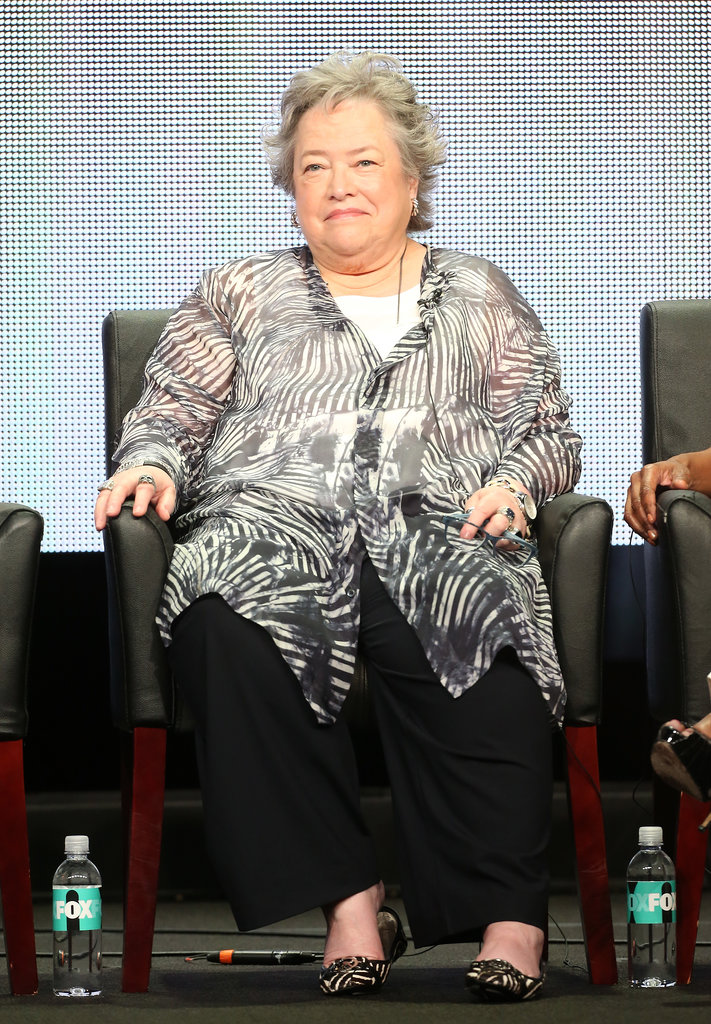 "Kathy Bates ""The humidity."" — On what New Orleans adds to American Horror Story: Coven, during the show's panel"