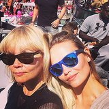 Natasha Poly attended Amsterdam's Gay Pride festival. Source: Instagram user natashapoly
