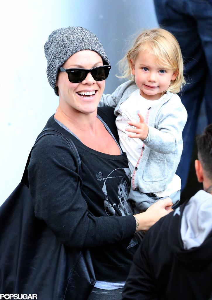 Pink spent Saturday in Sydney, Australia, with her daughter, Willow.