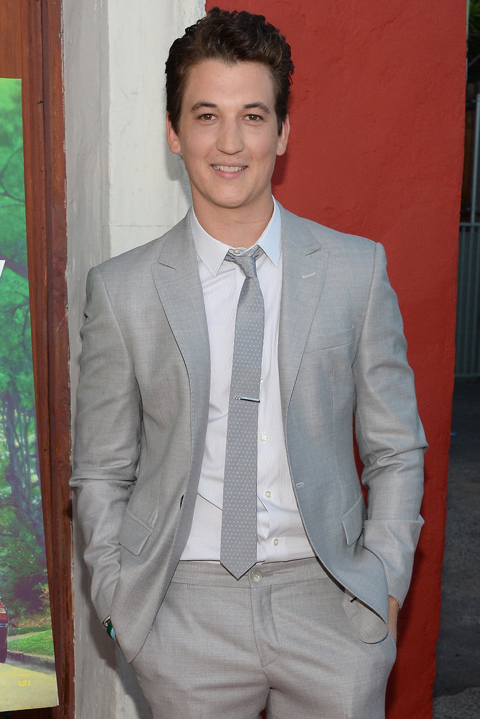 Miles Teller will star in Whiplash as a young man who's studying to be a jazz drummer.
