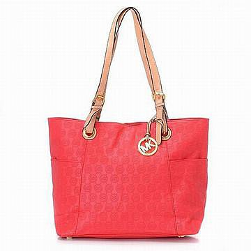 Michael Kors Handbags Jet Set Tote Red Womens