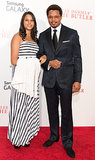 Terrence Howard and Heaven Howard attended the event.