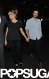 Sienna Miller and Tom Sturridge held hands for a dinner date at J Sheekey restaurant in London.
