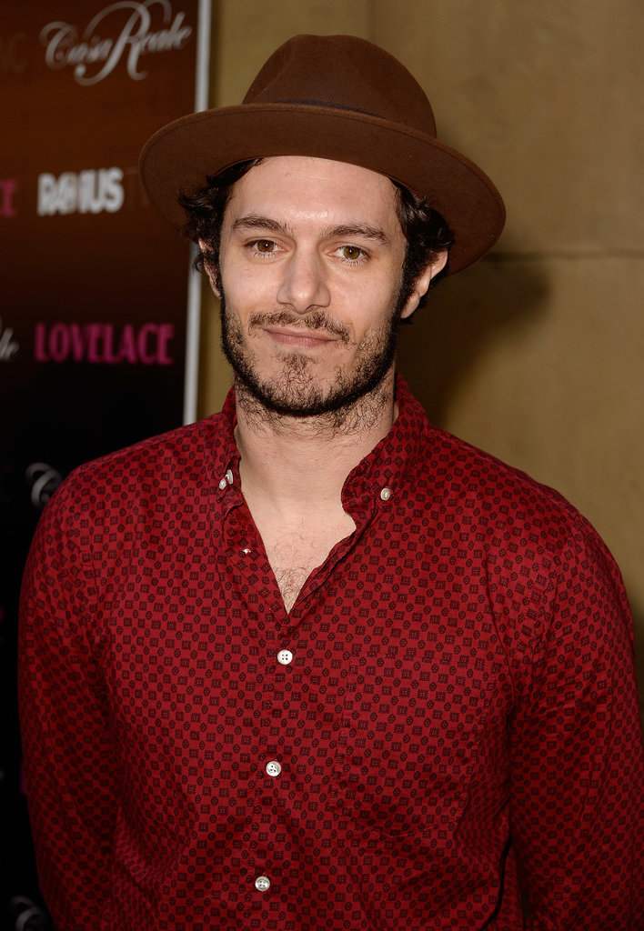 Adam Brody hit the red carpet at his Lovelace premiere in LA.