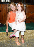 Edie Falco With Daughter Macy