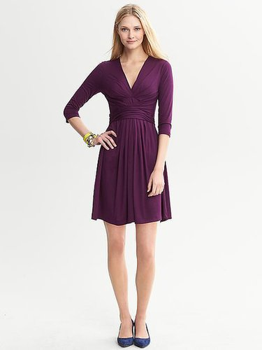 Issa Collection Three-Quarter Sleeve Wrap-Tie Dress